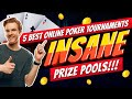 Best Online Poker Tournaments: 5 Most Popular and Largest Poker Sites 👍🏻