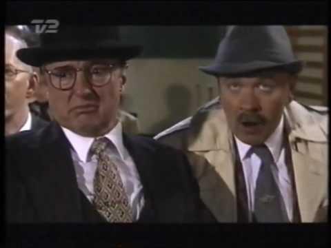 En sene fra Olsen Bandens Første kup fra 1999 optaget fra TV 2