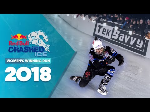 Who won Red Bull Crashed Ice 2018 Canada - Women's Winning Run.
