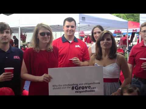 Why the Today Show should come visit Ole Miss and the Grove
