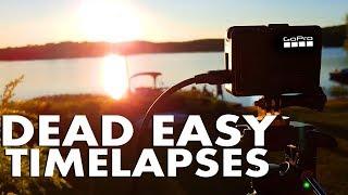 Dead EASY GoPro Timelapse | Star Nightlapse | How to