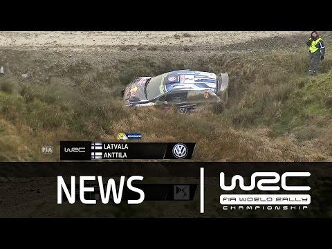 WRC News - Wales Rally GB 2015: Stages 1-3