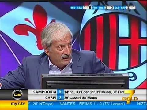 Diretta Stadio 7Gold (FIORENTINA MILAN 2-0)
