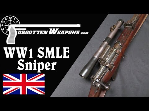 British World War One SMLE Sniper Rifle