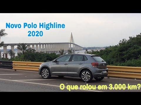 Novo Polo Highline 2020 - O que rolou em 3.000 km?
