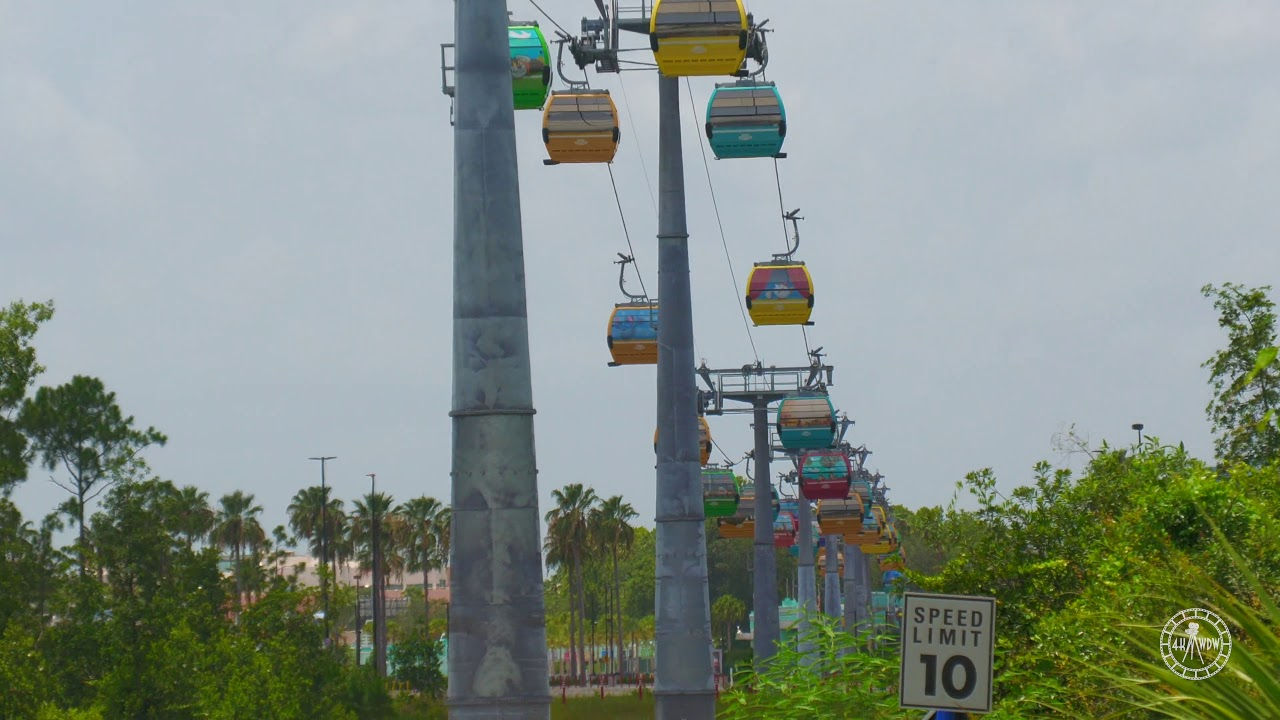 Monorail & Disney Skyliner Testing Begins For Walt Disney World Reopening!