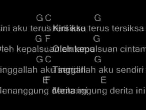 May-Sendiri (Chord)