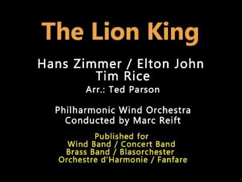 Marc Reift - The Lion King (H. Zimmer / E. John, Arr.: T.Parson)