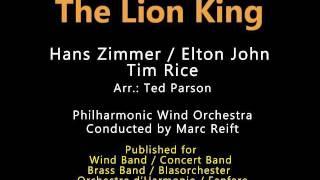 Marc Reift The Lion King H. Zimmer E. John, Arr. T.Parson.mp3