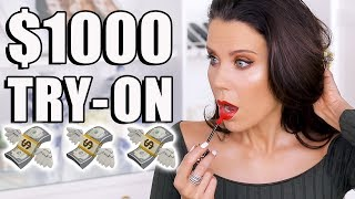 $1000 MAKEUP TRY-ON