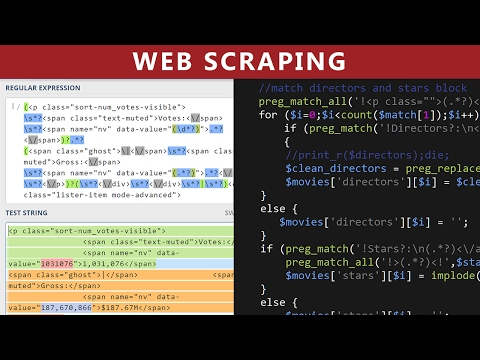 Web Scraping Using PHP - Parse IMDB.com Movies HTML