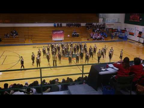 Lopez High School Golden Stars Team Military at ShowTime Competition 2017