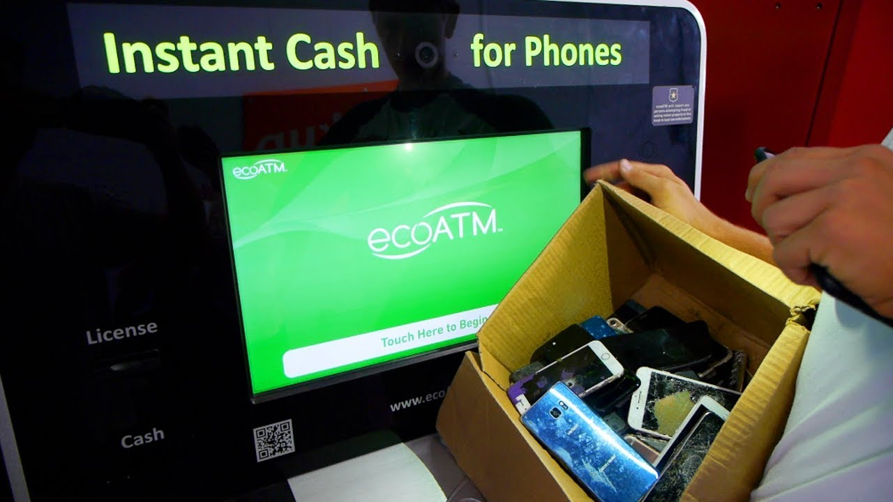 How Much Will Eco Atm Machine Give Me for Box of iPhones ...