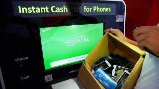 I have a few boxes of broken phones from all my past videos so decided to put them in eco-atm machine see how much money can get!facebook:https://ww...