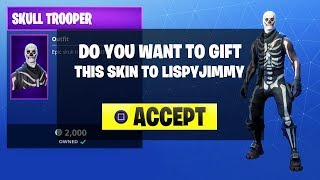 NEW FORTNITE UPDATE! NEW GIFTING SKINS IN FORTNITE! (FORTNITE BATTLE ROYALE)