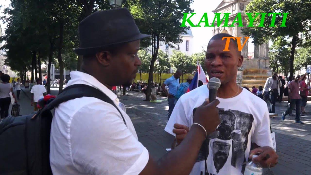 La diaspora en France Soutien les haitiens à Saint Domingue