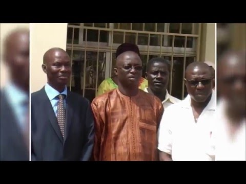 GRTS: Project Aid The Gambia and Peace Village donate medical supplies to Health Ministry