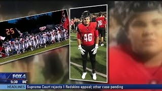 Burleson football player injured in freak accident remains in ICU