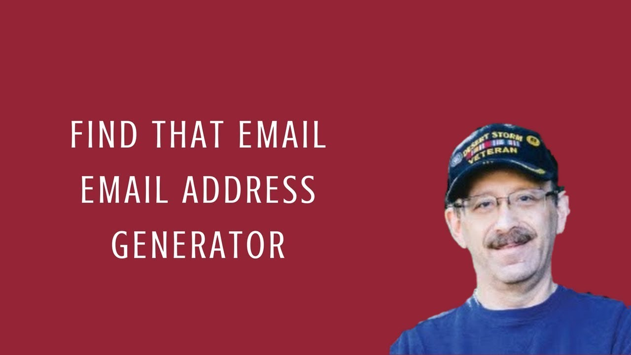 Use Find That Email : Email Address Generator to Contact