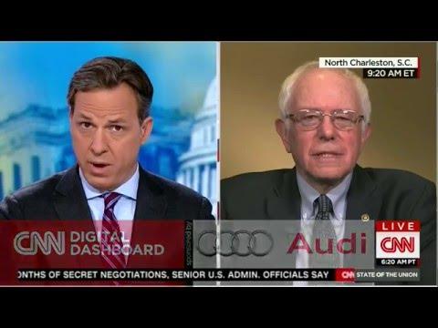 Bernie Sanders Surprised Chelsea Clinton is Being Used a Campaign Tool