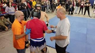 Tommy Aliberti - 2018 WFMAF U.S. Open, Fight 1, Round 1