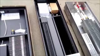 Обзор 3 метровых внутрипольных конвекторов ТМ Verano, Polvax, Carrera