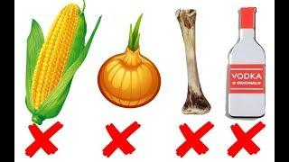 Почему собаке нельзя кукурузу, виноград, кости. ТОП опасных продуктов.