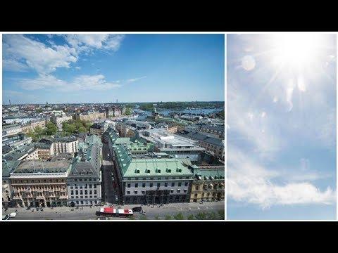 Tidig meteorologisk sommar i Stockholm – och tre årstider samtidigt i Sverige