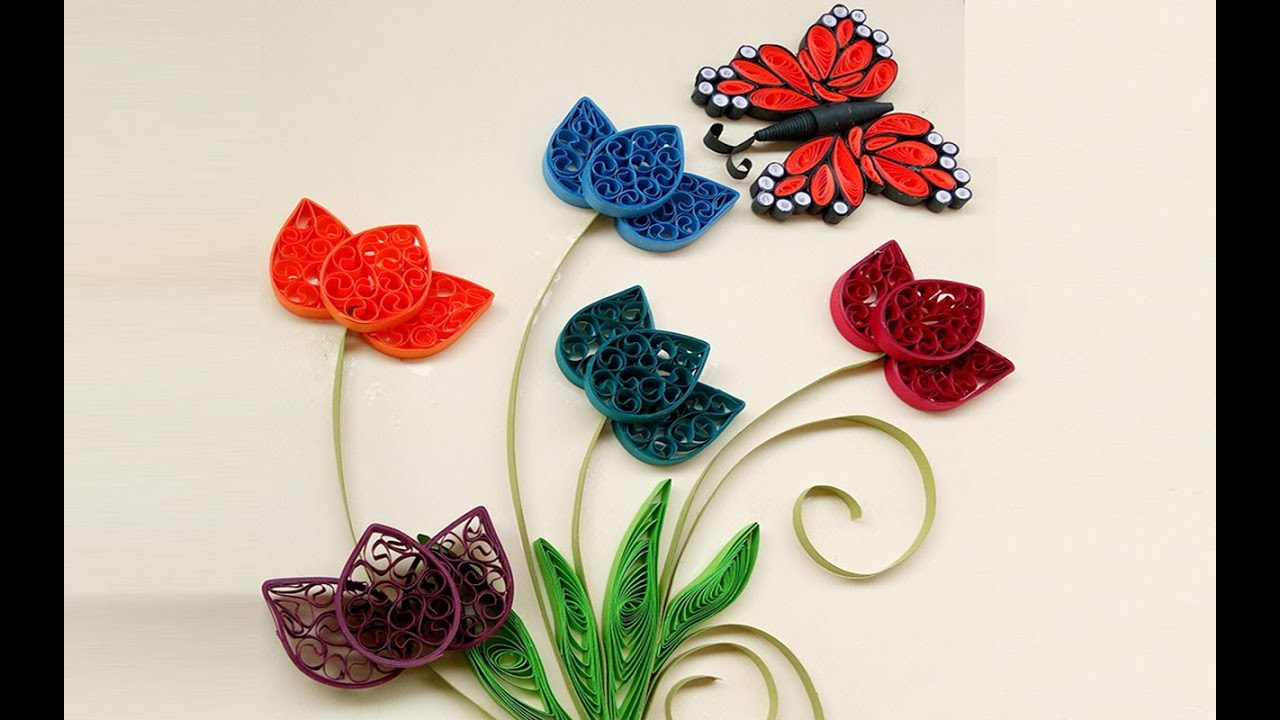 Crafting Flowers From Paper