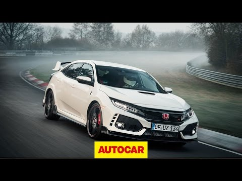 Honda Civic Type R Nurburgring front-drive lap record onboard | Autocar