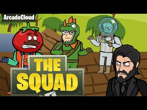 Original Fortnite Animation | LOOT LAKE | The Squad Ep. IV