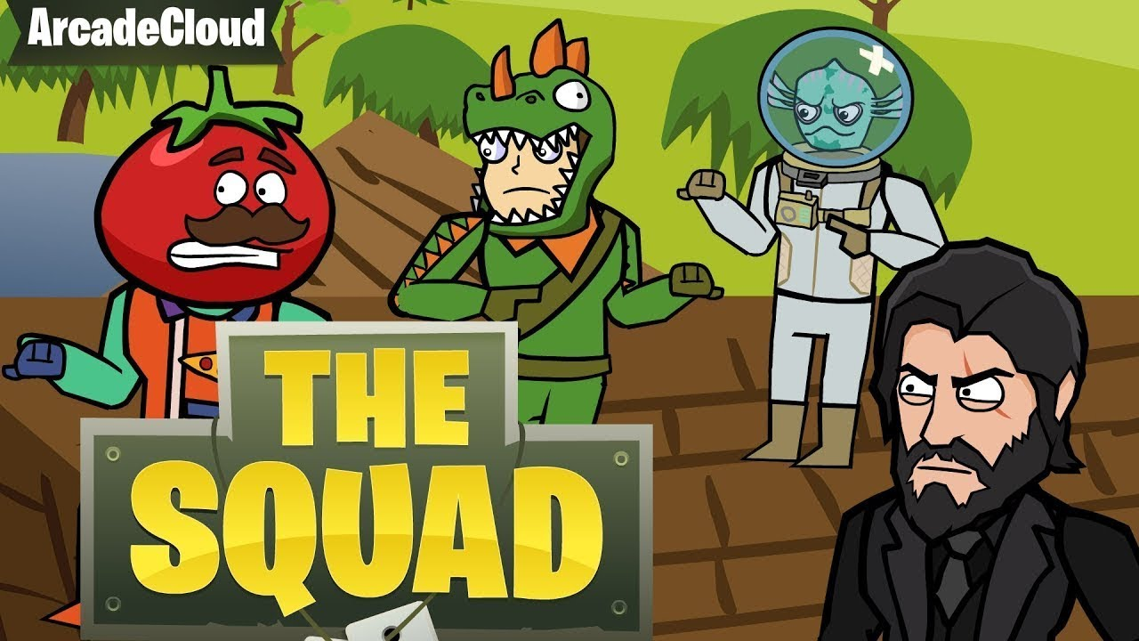 Fortnite The Squad All Parts Episodes 1 4 Arcadecloud Sfm Animation Index Php The Squad Season 1 Battle Royale Compilation Fortnite Animation Arcadecloud Youtube