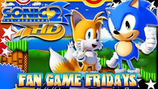 Fan Game Fridays - Sonic 2 HD Remake - Debug, Secrets, & More