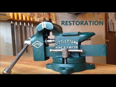 Bench Vise Restoration-LITTLESTOWN No. 112