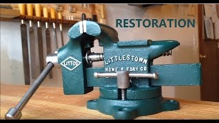 Bench Vise Restoration-LITTLESTOWN No. 112
