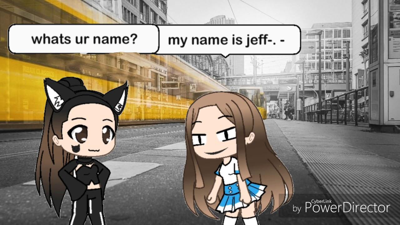 My name is jeff *-*- meme| gacha verse 💜🖤💜🖤 - YouTube