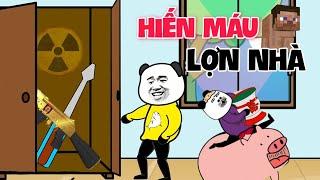 GẤU HÀI HƯỚC: Hiến Máu Lợn Nhà | Tập 140 | Phim hoạt hình gấu trúc mặt bựa siêu hài hước