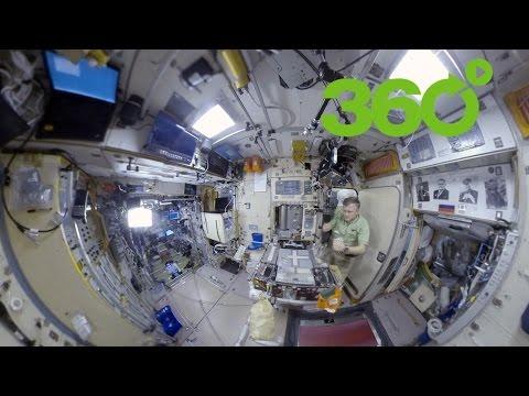 Space 360º: Desayuno en la Estación Espacial Internacional (EEI)