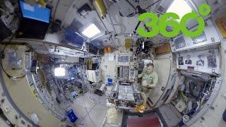 Space 360º Desayuno en la Estación Espacial Internacional EEI