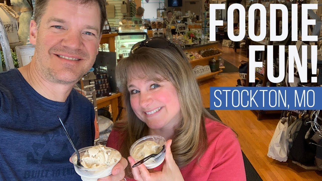 Small Town Foodie Stops // Stockton, MO // [EP 65]