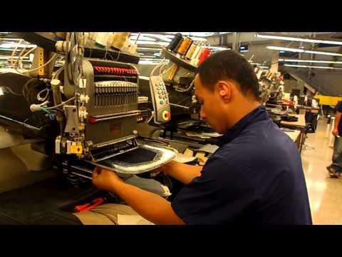 Bordadoras Melco Amaya De Alta Productividad.Planta CIJeans Colombia