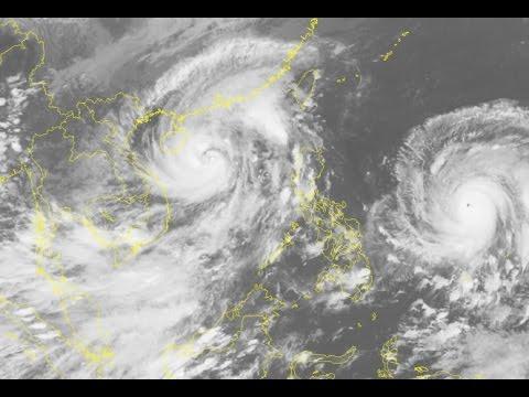 Tin tức Đông Tây 24h - 18/10/2016 | Sau bão số 7, lại xuất hiện thêm siêu bão Haima
