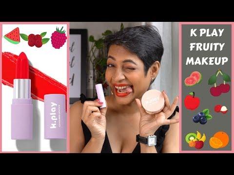 MyGlamm K PLAY All Lipsticks Swatched🍎Fruity Flavour MakeUp  | JoyGeeks |