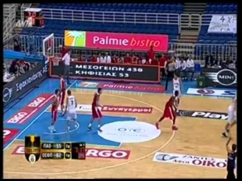 Nikos Pappas on fire vs Olympiacos in Greek Cup