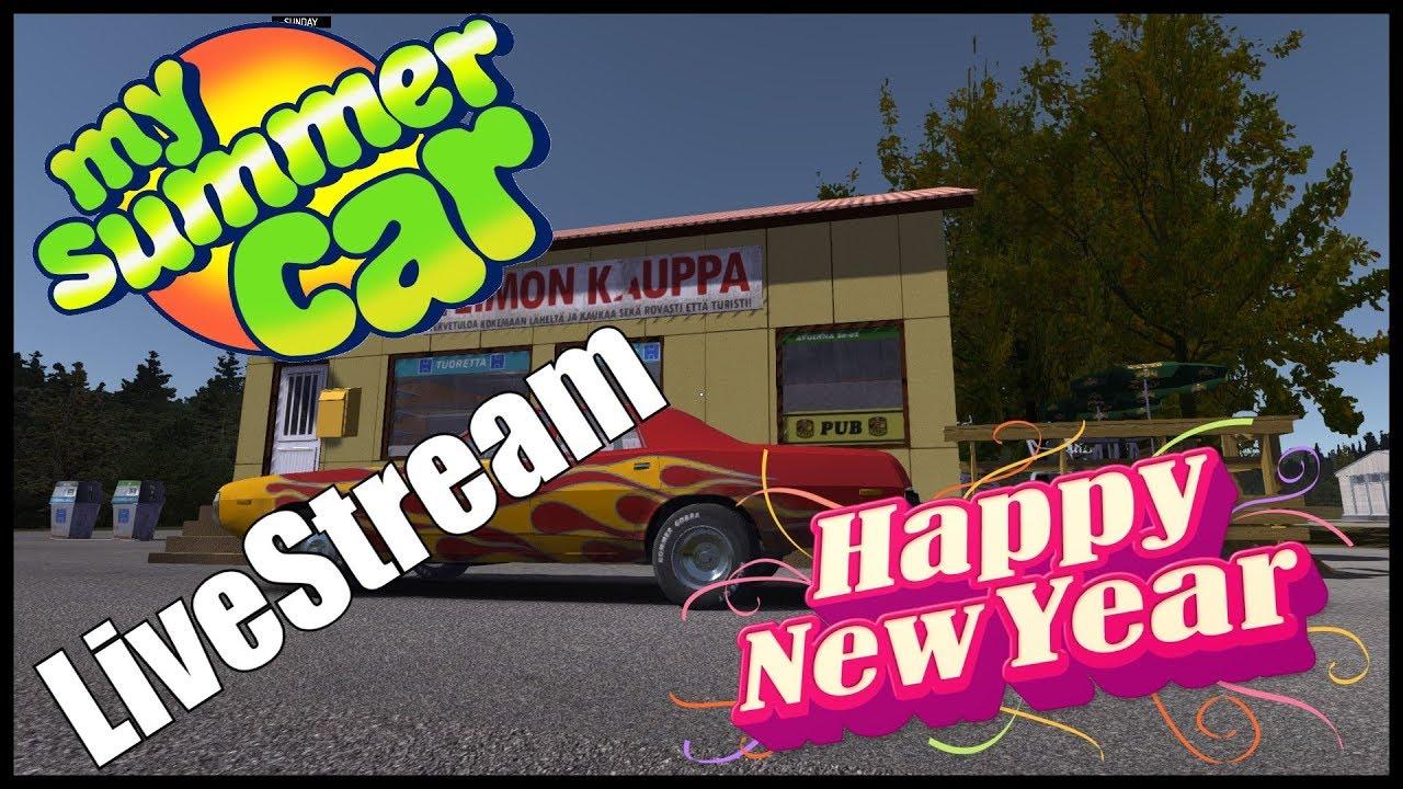 My Summer Car Livestream Zeit Dem Jahr Good Bye Zu Sagen Road