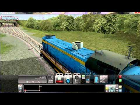 Game(2), Trains, Russian Map\Игра(2), Поезда, Российская Карта