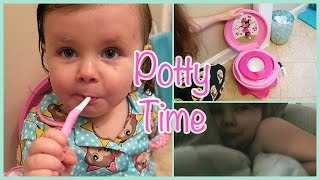 ♡ Potty Training Begins! | Day 158