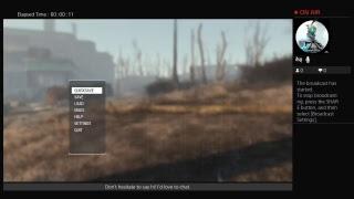 Fallout Test Stream
