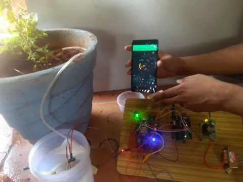IOT based smart watering system