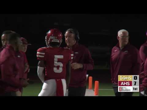 e64af6098b2 KLFItv Texarkana Football - De Queen vs Arkansas High 2018 (Full Broadcast)